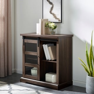 The Gray Barn Kujawa Sliding Door Accent Console