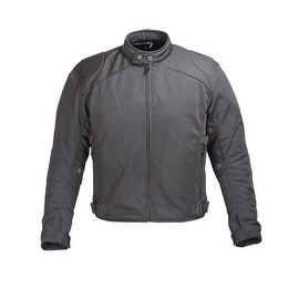 Mens Black Mesh Motorcycle Jacket padded with 5peice CE Armor MBJ063