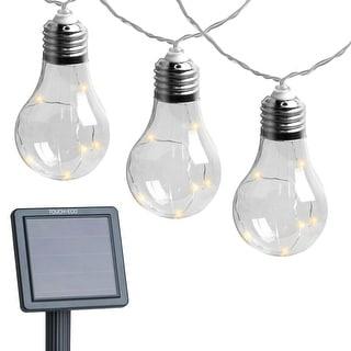 Early Edison Solar Powered LED String Light Bulbs - 2 Pack - 2 Pack