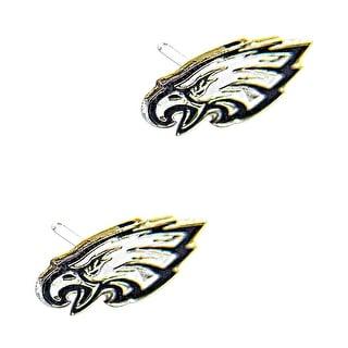 Philadelphia Eagles Post Stud Logo Earring Set Charm Gift NFL