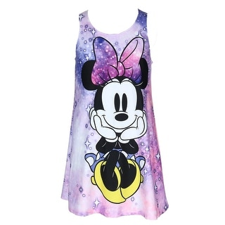 Disney Girl's Minnie Mouse Tank Dress Cover Up