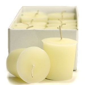 3 Boxes of French Vanilla Votive Candles Votive Candles Pack: 12 per box 1.75 in. diameter x 2 in. tall