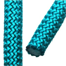 Climbing Rope Nylon Cord, Knot and Braid Necklaces and Bracelets 10mm, 3 Meters, Blue