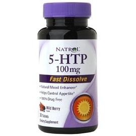 Natrol 5-HTP 100mg Fast Dissolve Tablets 30 ea