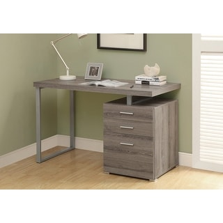 Monarch 7326 Dark Taupe Left Or Right Facing 48nch Computer Desk