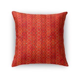 Kavka Designs orange/ rust fiesta accent pillow by Kavka Designs