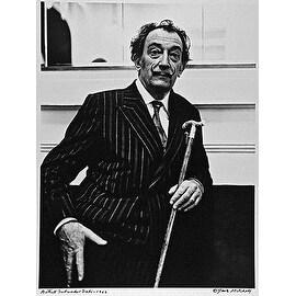 Salvador Dali, Vintage 1966 Gelatin Silver Photograph, Jack Mitchell