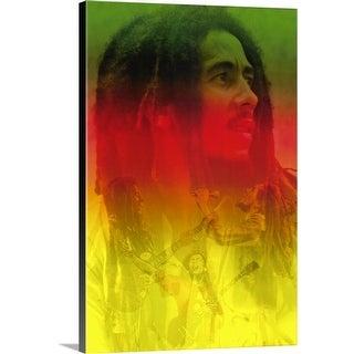 """Bob Marley ()"" Canvas Wall Art"