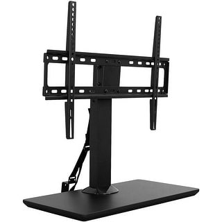 "Mount-It! Table Top TV Stand Riser Mount for 40"" - 70"" Inch Screens Up to 77 Lbs Weight Capacity"