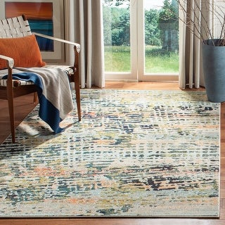 Safavieh Madison Geeke Vintage Boho Abstract Rug