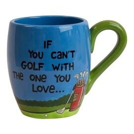 Love Golf Cute & Funny Ceramic Mug