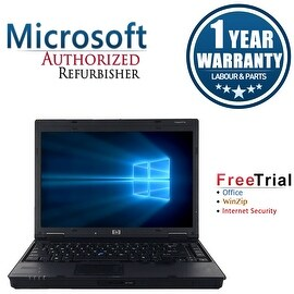 Refurbished HP Compaq 6910P 14.1'' Laptop Intel Core 2 Duo T7300 2.0G 2G DDR2 80G DVD Win 7 Home Premium 64-bit 1 Year Warranty