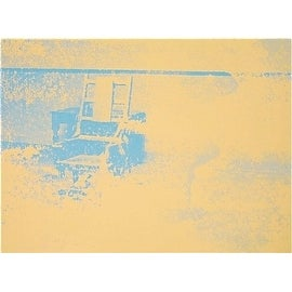 Electric Chair #83, Limited Edition, Silk-Screen, Andy Warhol