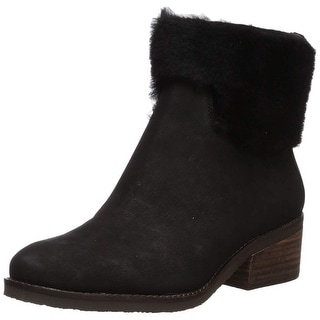 Lucky Brand Womens Tarina Fabric Closed Toe Ankle Fashion Boots