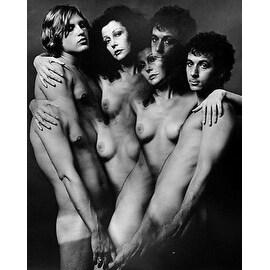 Ultra Violet & Friends, Vintage 1971 Gelatin Silver Photograph, Jack Mitchell