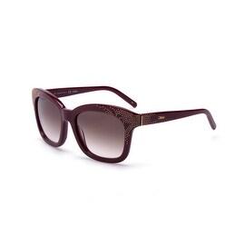 pink chloe bag - Chloe 89S Asymmetrical Sunglasses - 408027 - Overstock.com ...