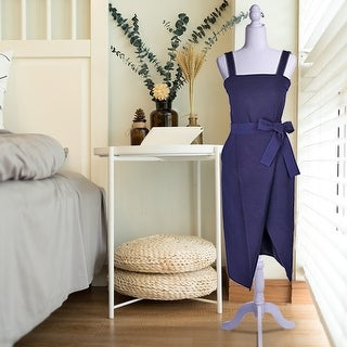 Half-Length Foam & Brushed Fabric Coating Lady Model for Clothing Display 4 Colors