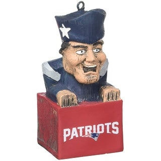 "New England Patriots 3.5"" Mascot Ornament"