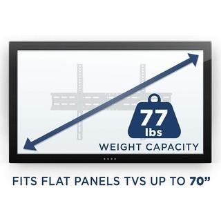 Mount-It! TV Wall Mount Bracket for 42 50 55 58 60 65 70 Inch TVs