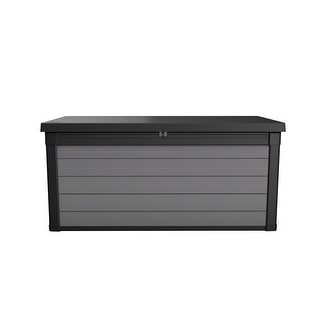 Keter Premier 150 Gallon Plastic Resin Outdoor Deck Box