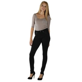 Lola Ava-JBLK, Mid Rise Jegging With 4-Way Stretch Technology