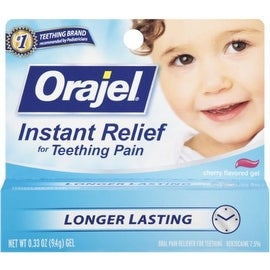 Baby Orajel Cherry Flavored Gel 0.33 oz