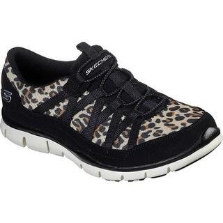Skechers Women's Gratis Wild Vibes Sneaker Leopard