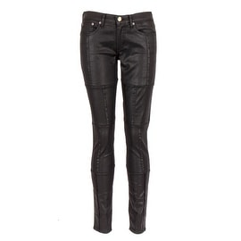 Sonas Denim Broadway Black Patchwork Skinny Jeans