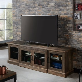 Jacinto Rustic Reclaimed Oak TV Stand