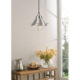The Gray Barn Calloway Hill Silver 1-light Mini Pendant