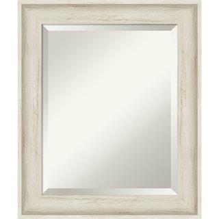 Regal Birch Cream Bathroom Vanity Wall Mirror