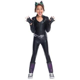 Girls Deluxe Catwoman DC Super Hero Girls Costume