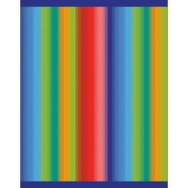 """Elegant Stripes, Velour Towel for Two, Beach Blanket 58"""" x 74"""", MADE IN BRAZIL"""