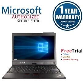 "Refurbished Lenovo ThinkPad X220T 12.5"" Laptop Intel Core I7 2620M 2.7G 4G DDR3 120G SSD Win 10 Professional 64 1 Year Warranty"