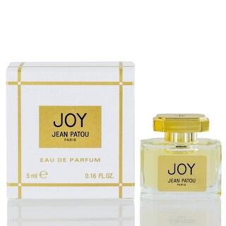 Joy for women by Jean Patou Eau De Parfum refillable purse spray glass bottle 0.16Oz