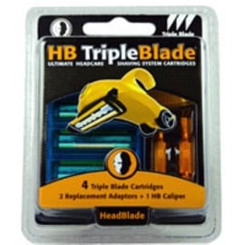 HeadBlade Triple Blade Refills Accessory Kit 4 ea