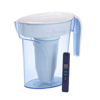 Zero Water 6 Cup Water Filter Pitcher with Free Water Quality Meter, NSF Certified - Full