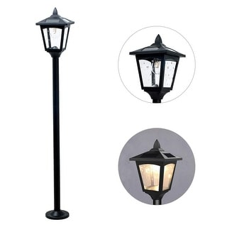 Kanstar Solar Power Mini Vintage Street Lamp Post