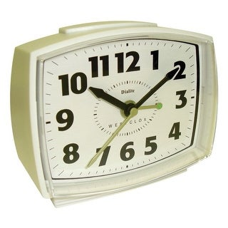 Westclox 22192 electric alarm clock with constant lighted dial