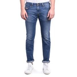 Diesel Thavar Slim-Skinny Stretch Light Blue Denim Jeans