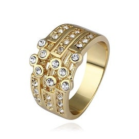 Gold Plated Greek Design Inspired Ring