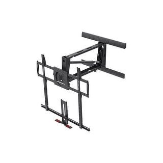 "Extra Large Above Fireplace Pull-Down Full-Motion Wall Mount 55"" to 100"" TVs"