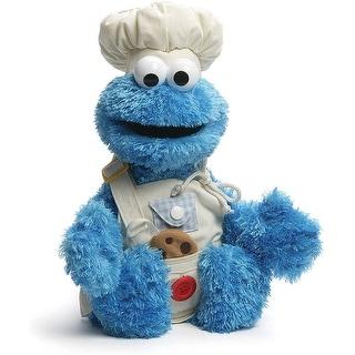 "GUND Sesame Street Teach me Cookie Monster Stuffed Animal- 17"""