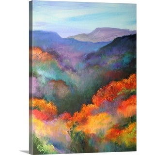"""The Hills Are Alive "" Canvas Wall Art"