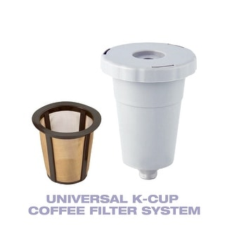 GoldTone Reusable K-Cup Style Coffee Filter System Starter Pack