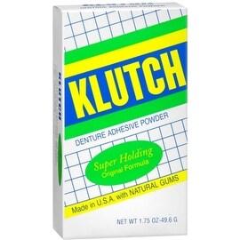 Klutch Denture Adhesive Powder Super Hold 1.75 oz
