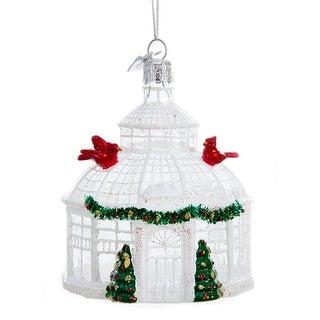 Kurt Adler Noble Gems Conservatory Building Holiday Ornament