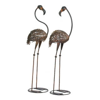 Iron Garden Flamingo Set