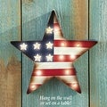 LED Lighted Patriotic Star Wall Decor
