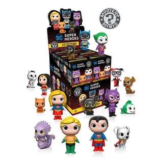 "FunKo DC Comics Heroes & Pets Series 1 2.5"" Mystery Mini Vinyl Figure - multi"